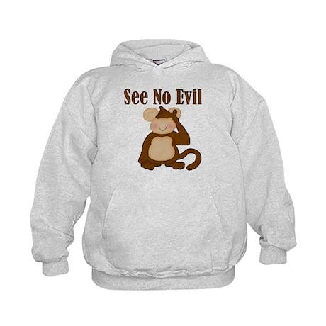 See No Evil Kids Hoodie