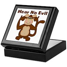 Hear No Evil Keepsake Box