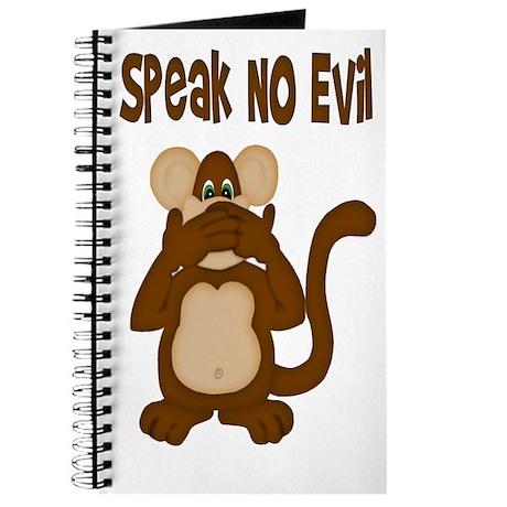 Speak No Evil Journal
