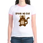 Speak No Evil Jr. Ringer T-Shirt