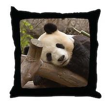 Giant Panda Bear Throw Pillow