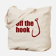 Fish Hook Tote Bag