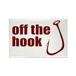 Fish Hook Rectangle Magnet (100 pack)