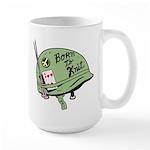 Born to Knit Large Mug