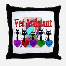 More Veterinary Throw Pillow
