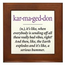 Karmageddon - Framed Tile