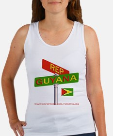 REP GUYANA Women's Tank Top