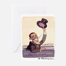 2-fdr obama! Greeting Cards