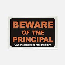 Beware / Principal Rectangle Magnet