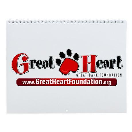 Great Heart Logo 1 Wall Calendar