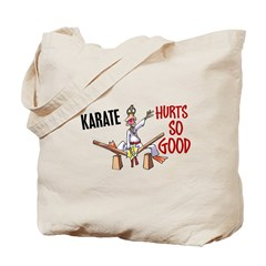 Karate Duck 3 Tote Bag