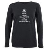 Stay calm and drink champagne Long Sleeve