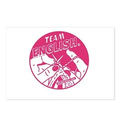 Team English Postcards (Package of 8)