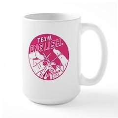Team English Large Mug