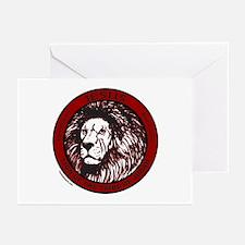 LION, TRIBE OF JUDAH Greeting Cards (Pk of 10)