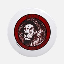 LION, TRIBE OF JUDAH Ornament (Round)