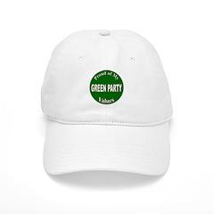 Proud Green Party Values Baseball Cap
