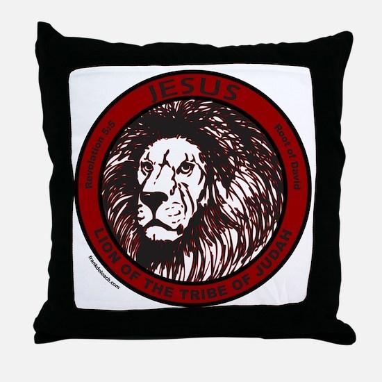 LION, TRIBE OF JUDAH Throw Pillow