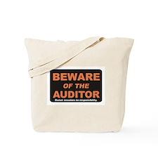 Beware / Auditor Tote Bag