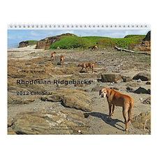 Rhodesian Ridgeback 2013 Wall Calendar
