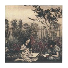 Arthur Rackham's Marjorie and Margaret Tile Coaste