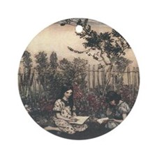 Arthur Rackham's Marjorie and Margaret Ornament (R