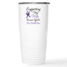 Hodgkin's Support Wife Travel Mug