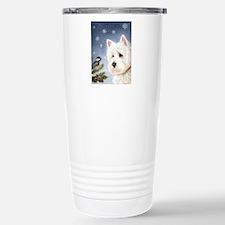 WESTIE WINTER WONDERS Travel Mug