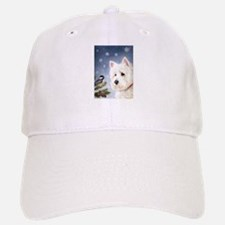 WESTIE WINTER WONDERS Baseball Baseball Cap
