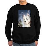 WESTIE WINTER WONDERS Sweatshirt (dark)