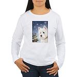 WESTIE WINTER WONDERS Women's Long Sleeve T-Shirt