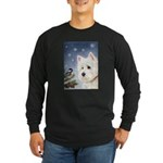 WESTIE WINTER WONDERS Long Sleeve Dark T-Shirt