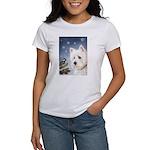 WESTIE WINTER WONDERS Women's T-Shirt