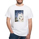 WESTIE WINTER WONDERS White T-Shirt