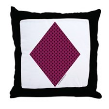 Diamond Suit - Throw Pillow