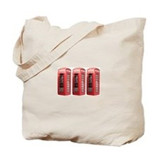 London Phonebooth Tote Bag