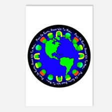 Peas On Earth Postcards (Package of 8)