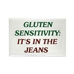 Gluten Sensitivity/In The Jeans Rectangle Magnet