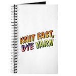 Knit Fast, Dye Yarn Journal