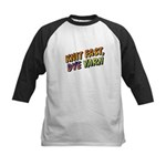 Knit Fast, Dye Yarn Kids Baseball Jersey