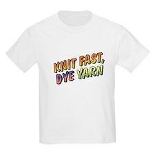 Knit Fast, Dye Yarn T-Shirt