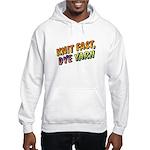 Knit Fast, Dye Yarn Hooded Sweatshirt