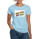 Knit Fast, Dye Yarn Women's Light T-Shirt