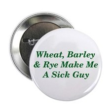 "Wheat, Barley & Rye Celiac 2.25"" Button"