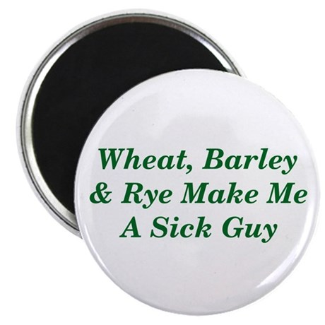 Wheat, Barley & Rye Celiac Magnet