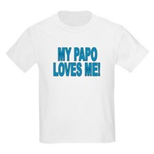 MY PAPO LOVES ME Kids T-Shirt