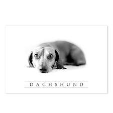 Dachshund Art Postcards, 8-Pk. - Cute Doxie Art!