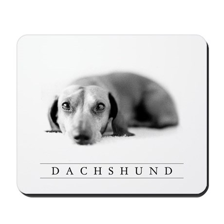 Dachshund Lover's Computer Mousepad