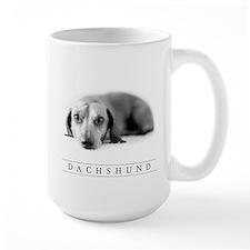 Classic Dachshund Lover's Large-Sized Mug