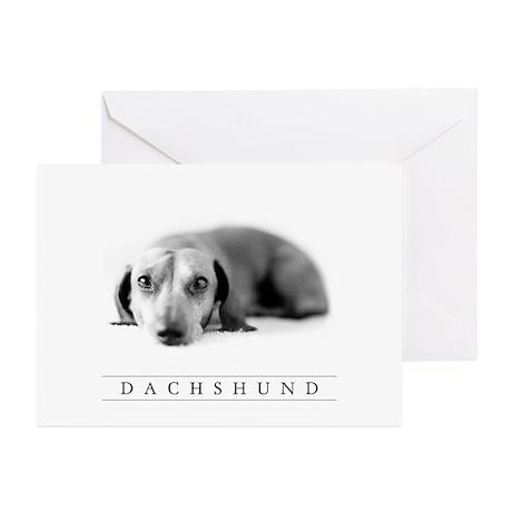 Dachshund Art Note Cards, Blank Inside (6-pk.)